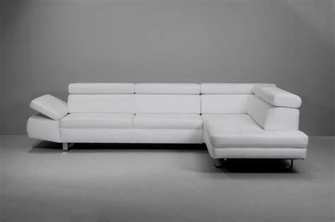 canapé 3 places blanc canapé design 3 places bandibandi cuir blanc