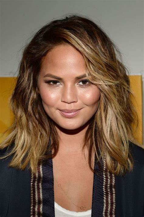 haircuts  girls  chubby cheeks ombre  balayage