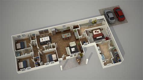 floor plan visualization modern house