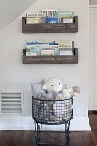 The picket fence projects baby39s book nook for Kitchen cabinets lowes with nursery decor wall art
