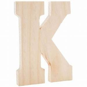 natural wooden stand alone letter k 599 at hobby lobby With standing letters hobby lobby