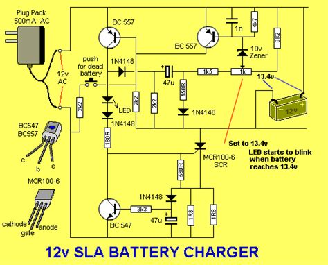 Solar Charge Controller Circuit Diagram The Led Flashes