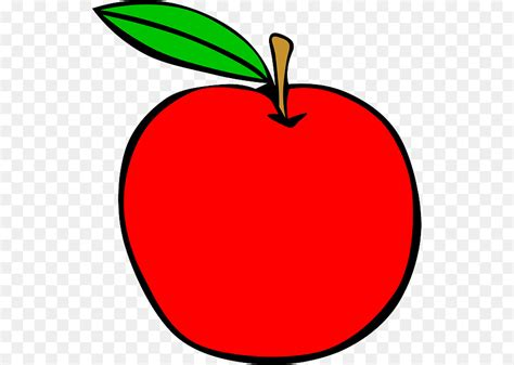Red Apple Cartoon Png