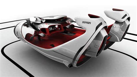 Car Design Concepts : Ferrari Fl Interior Concept