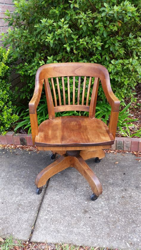 W H Gunlocke Chair Co Antique W H Gunlocke Chair Co Office Chair By Tallflowertreasures On Etsy