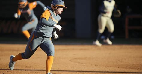 college softball lady vols pitching dominates south