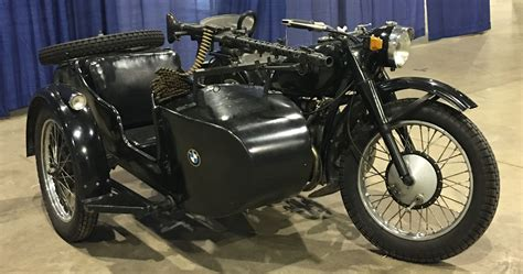 Wwii Bmw Type Side Car Motorcycle