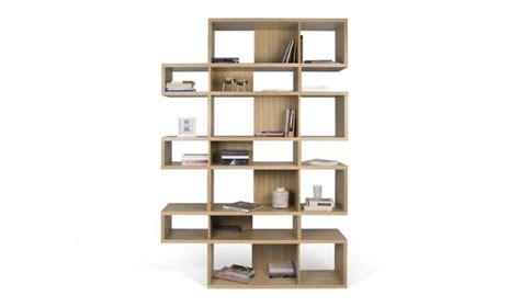 bibliotheque moderne pas cher bibliotheque haute chene fabrication europeenne temahome