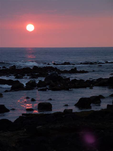 hawaii sunset moment