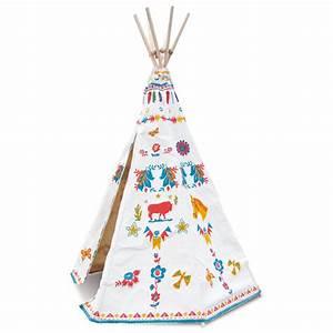 Tipi Indien Enfant : tipi d 39 indien de nathalie l t vilac pour chambre enfant les enfants du design ~ Melissatoandfro.com Idées de Décoration