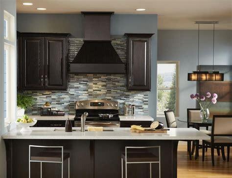 kitchen wall colors  dark cabinets home furniture design