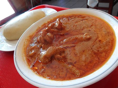 abidjan cuisine 13 chicken peanut sauce with foutou restaurant abidjan