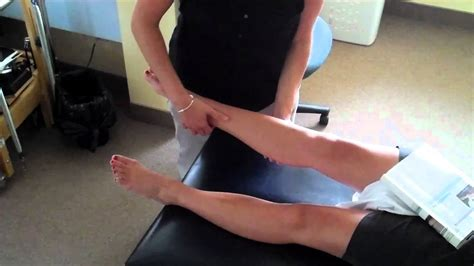 syndosmotic squeeze test - YouTube