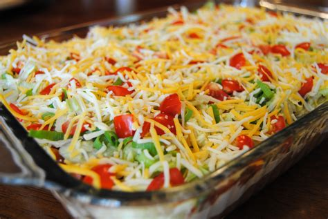 dips cuisine cold taco dip with ground beef
