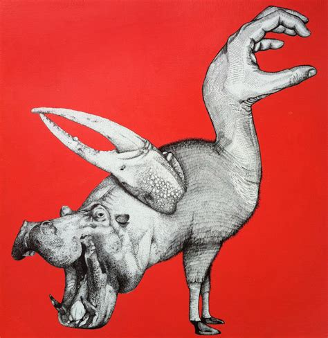 liam thinks paintings  weird animal hybrids