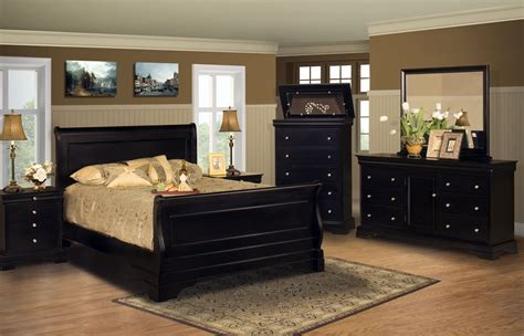 Bedroom Furniture Sets Black Raya Set Pics Modern