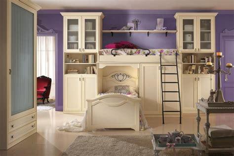 chambre violet et blanc des idées bohemes ou design pour la chambre de fille