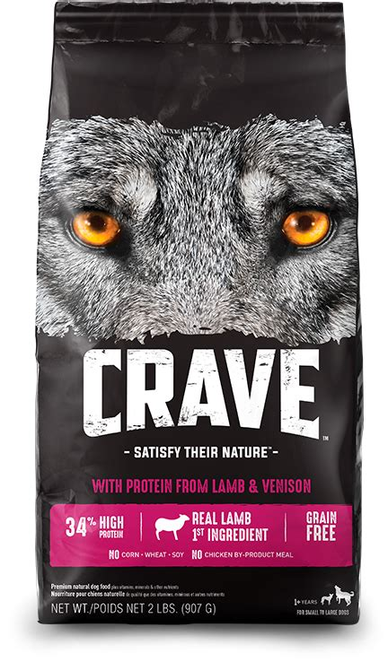 high protein dog  cat food crave