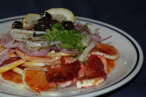 recette cuisine italienne gastronomique salade d 39 orange recette de la cuisine italienne