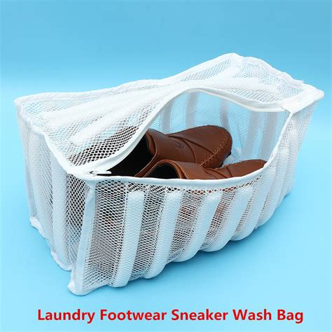 zippered mesh laundry bags zippered laundry footwear mesh wash bag sneaker washer 1711