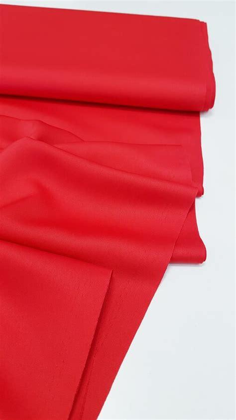 Sarkans satīns - Satīns ar matētu spīdumu - Veikals - My ...