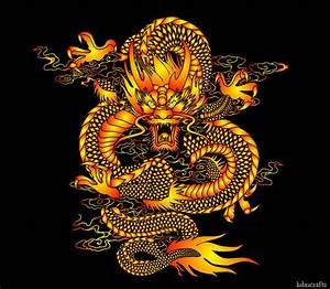 Chinese dragon art is oriental cultural art