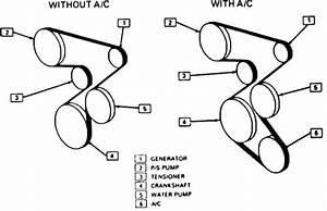 Do You Have Free Diagrams Available For The Installation Of A Drive Belt For A 1990 Chevy