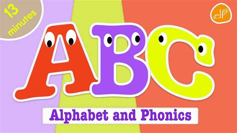 Alphabet Song And Abc Phonics Collection For Kids By Elf