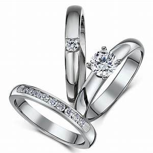 View full gallery of elegant wedding rings sets uk for Wedding ring sets uk