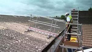 Echelle De Toit : echelle de toit board walk pour toitures fragiles youtube ~ Melissatoandfro.com Idées de Décoration