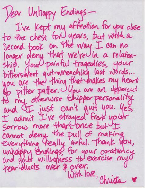 write   love letter levelings