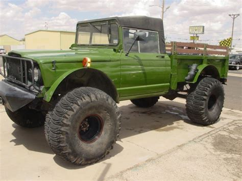kaiser jeep lifted 1967 jeep kaiser m715 military truck 4x4 trucks