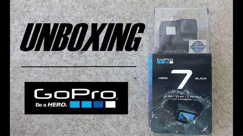 gopro hero black unboxing youtube