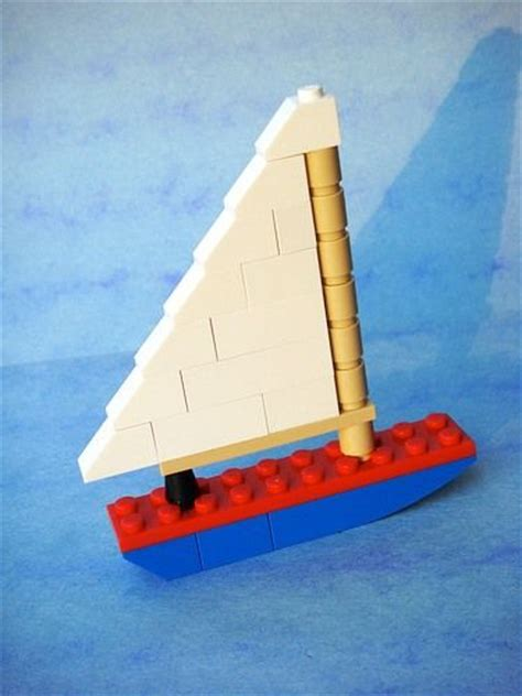 How To Make A Easy Lego Boat by Lego Lego Brick And Boats On