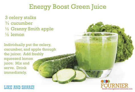 juice recipe energy drink boosting