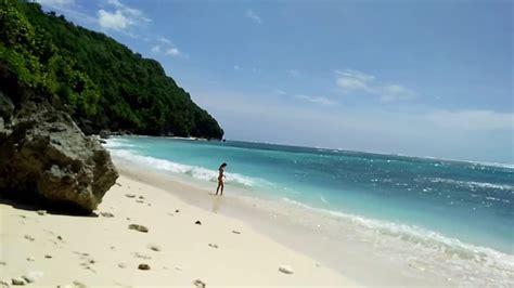 Green Bowl Beach Bali Youtube