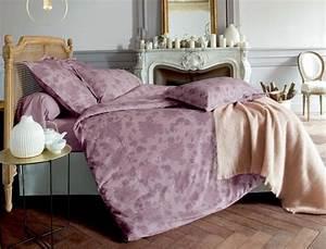 Housse De Couette Fleurie : la chambre linge de lit et parure de lit linvosges ~ Melissatoandfro.com Idées de Décoration