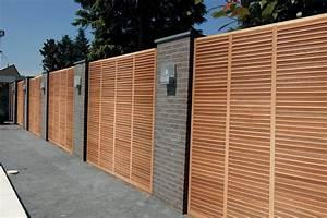 Panneau En Bois Brise Vue : panneau barria re palissade claustra collection avec brise ~ Dailycaller-alerts.com Idées de Décoration