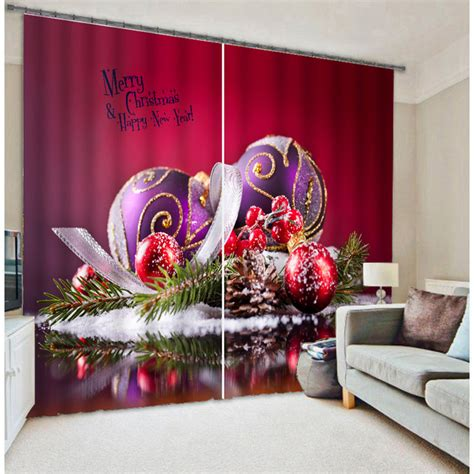 ideas  decorar cortinas en navidad