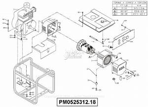 Powermate Formerly Coleman Pm0525312 18 Parts Diagram For
