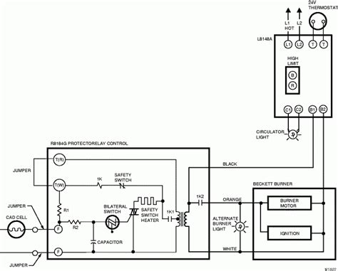 Oil Furnace Wiring Schematic Diagram Images