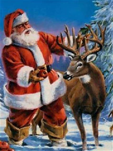 babbo natale gif animata  glitterata immagini natalizie