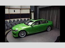 Java Green Metallic BMW 7series Alpina B7 Biturbo 2017