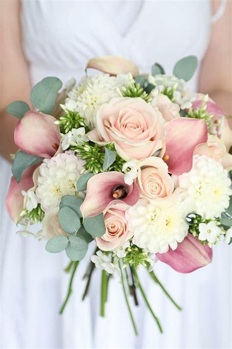 pastel pink wedding flowers chwv