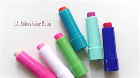 l a colors color balm review makeupfu