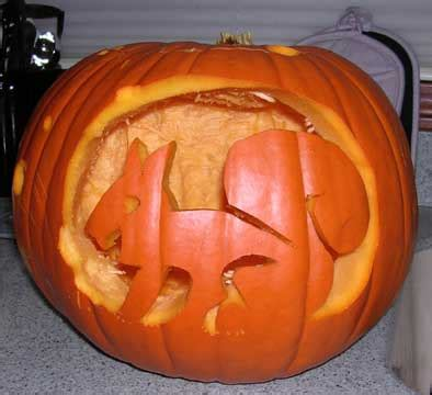 squirrel pumpkin carving patterns trish babbles october 2009