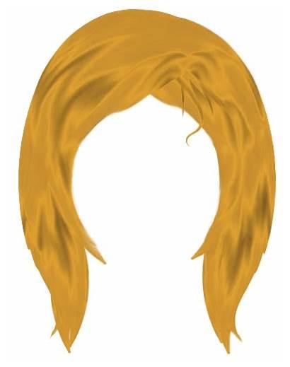 Wig Blonde Clipart Hair Wigs Clip Clown