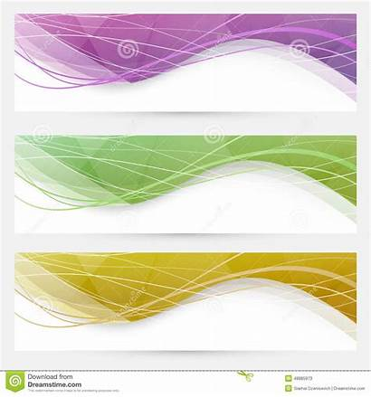Header Line Website Wave Crystal Abstract Speed