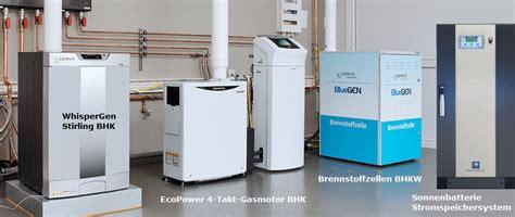 mikro bhkw gas eigen energie start