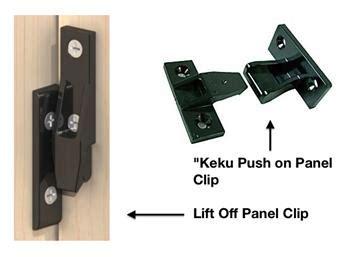 sa push  panel clip ac sissling